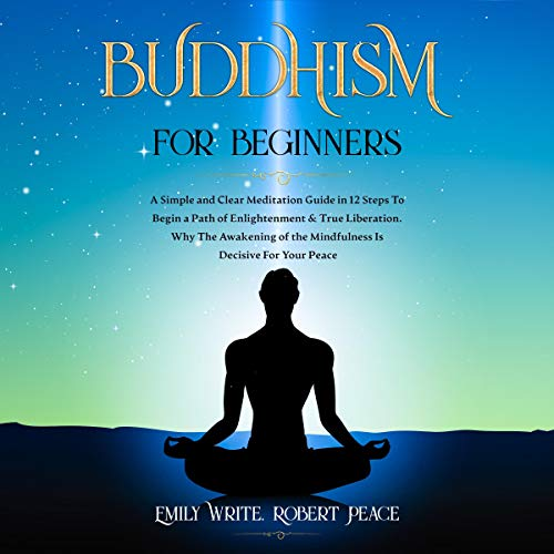 Buddhism for Beginners Audiobook By Emily Write, Robert Peace cover art