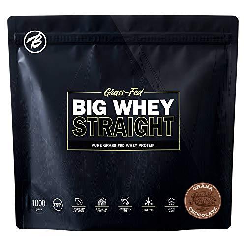 バルクスポーツ グラスフェッド プロテイン ビッグホエイ ストレート 人工甘味料不使用 ガーナチョコレート味 1kg