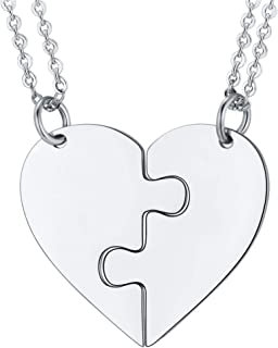Best brother and sister heart necklaces Reviews