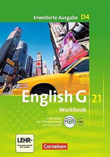 English G 21 - Erweiterte Ausgabe D / Band 4: 8. Schuljahr - Workbook mit Audio-Materialien