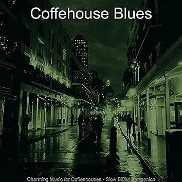 Charming Music for Coffeehouses - Slow Blues Harmonica