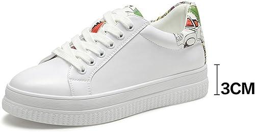 XIA Turnzapatos Cómodo Siéntase libre de combinar Corbata opcional The zapatoslace Single zapatos Spring Woman ( Color   B , Tamaño   EU36 UK4 CN36 )