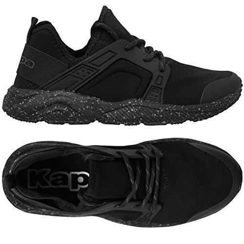 Robe di Kappa , Chaussures de Marche Nordique pour Homme Noir Noir - Noir - Noir, 46 EU EU