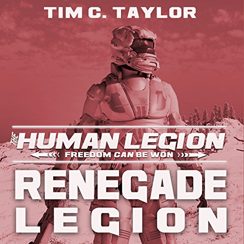 Renegade Legion audiobook cover art