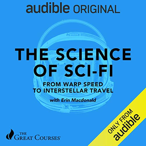 The Science of Sci-Fi audiobook cover art