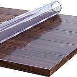 Everest Home Protector de Mesa de Material Impermeable Transparente. Protector PVC para mesas de Cocina, mesas de Comedor, Mantel, Mesa de Escritorio (50 x 150 cm)