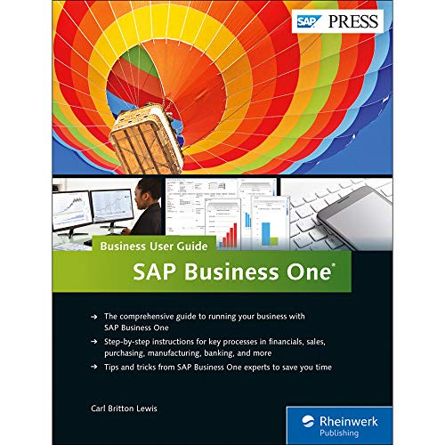 SAP Business One: Business User Guide (SAP PRESS: englisch)