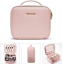"BEGIN MAGIC 10"" Makeup Bag Travel Makeup Train Case Professional Makeup Organizer Bag Small Portable Cosmetic Organizer Ca..."