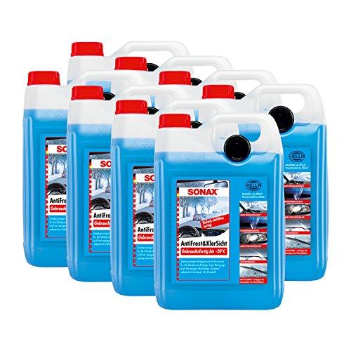 SONAX 8X 03325000 AntiFrost&KlarSicht gebrauchsfertig bis -20°C Frostschutz 5L