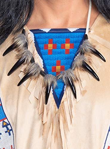 Maskworld Winnetou Halskette - Indianer - Lizenz-Kostüme aus den Karl-May-Filmen für Karneval und Motto-Party