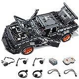 LJYY Bloques de construcción de Modelo de Coche Deportivo, 3181 Piezas de Coche de Carreras RC con Motores - 1:10, Modelo de Coche para Mustang, Kit de construcción