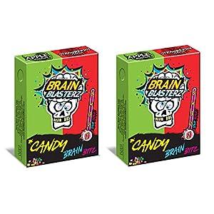 apple & strawberry - candy brain bitz sour brain blasterz - sweets bon bon buddies 45g (pack of 2) Apple & Strawberry – Candy Brain Bitz Sour Brain Blasterz – Sweets Bon Bon Buddies 45g (Pack of 2) 51Kzi8trBwL