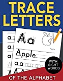 Trace Letters of The Alphabet with Sight Words: Reading and Writing Practice for Preschool...