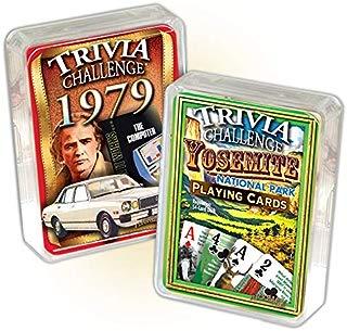 Flickback Media, Inc. 1979 Trivia Playing Cards & Yosemite National Park Trivia Combo: 40th Birthday or Anniversary
