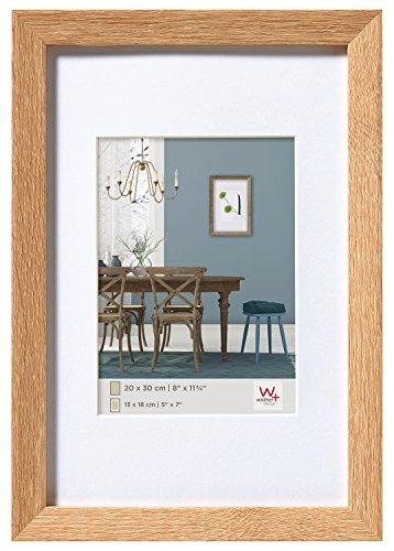 walther design EF318E Fiorito Holzrahmen 13x18 cm, eiche hell
