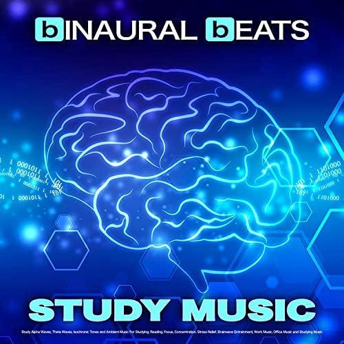 Binaural Beats Study Music, Study Alpha Waves & Binaural Beats