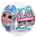 L.O.L. Surprise All-Star B.B.s Sports Series 1 Baseball Sparkly Dolls with 8 Surprises by MGA Entertainment