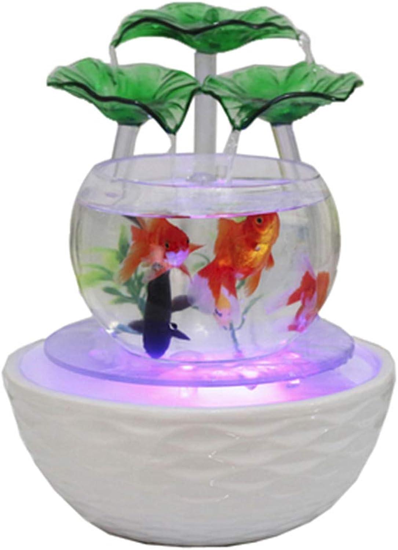 Fish Tank Aquarium Strong And Sturdy Fish Tank Crystal Clear High Brightness Low Power Use Send Grass