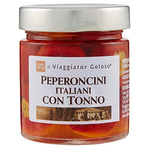 Il Viaggiator Goloso Peperoncini Italiani con Tonno - 190 g
