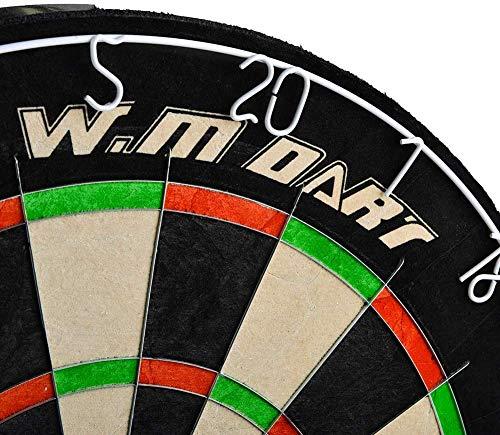 WIN.MAX Bristle Steel Dartboard - 6