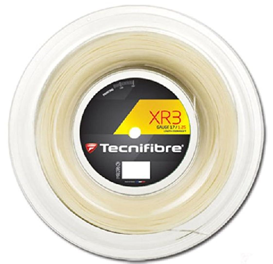 規制喪列挙するテクニファイバー(Tecnifibre) テニス ガット エックスアール3 XR3 ロールタイプ 200m