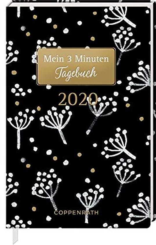 議論する豪華な解放するMein 3 Minuten Tagebuch 2020 (Weisse Blueten)
