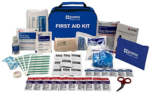 Xpress First Aid 71 Piece First Aid Kit, ANSI/OSHA Compliant