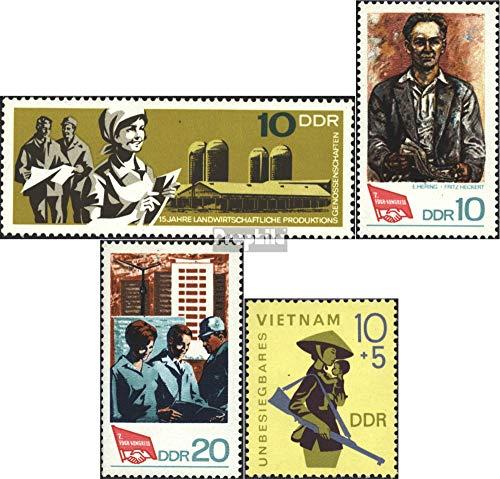 Prophila Collection DDR 1332,1363-1364,1371 (kompl.Ausgaben) 1967/68 LPG, Vietnam, FDGB (Briefmarken für Sammler) Militär