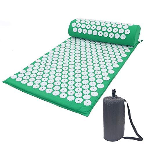 LQC Akupressurmatte, können Sich entspannen und Schmerzen zu lindern Massage-Pads, Akupressur-Pads, waschbare Bezüge und Reisetaschen (Size : A)