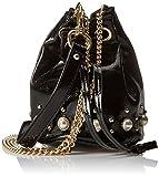 steve madden - Bcarly Handbag, cartera Mujer, Schwarz (Black), 15x16x15 cm (B x H T)