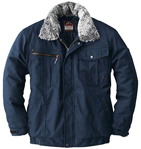 sowa(ソーワ) 防寒ブルゾン 綿100% PROTECT WINTER 防寒ジャンパー sw-5403 ネイビー L