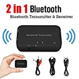 QYWSJ Adaptateur Bluetooth, éMetteur + RéCepteur Bluetooth, Adaptateur Musical Aux...