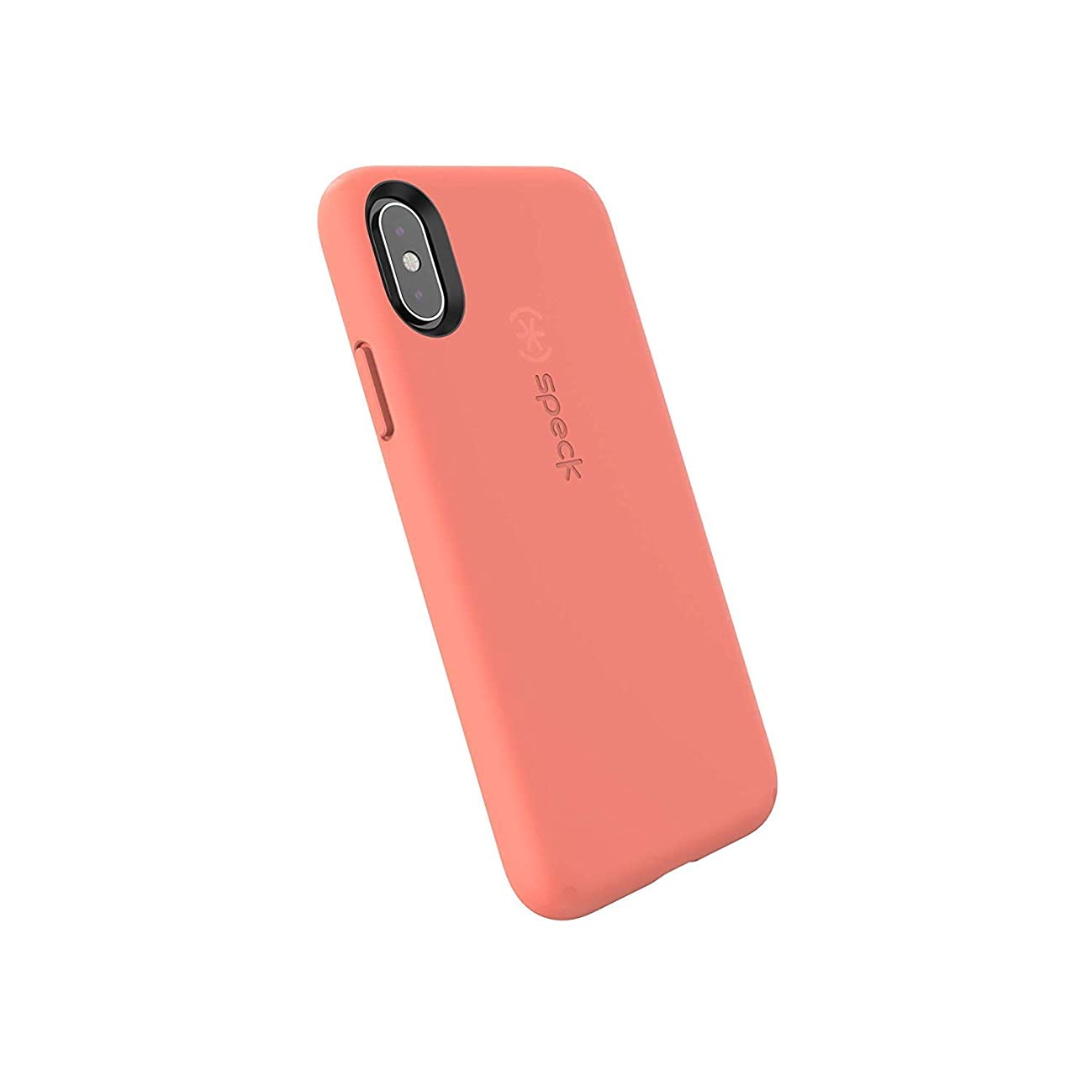 Speck Products CandyShell Fit iPhone Xs/iPhone X Case, Apricot Peach/Apricot Peach