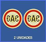 Ecoshirt EE-0033-1NG5 Pegatinas Stickers Gac Ref: Dp68 Aufkleber Autocollants Adesivi Moto Decals Motrocycle, 5 cm