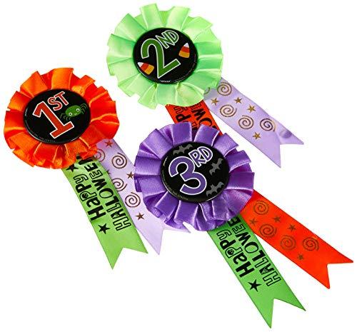 Halloween Award Ribbons 3ct