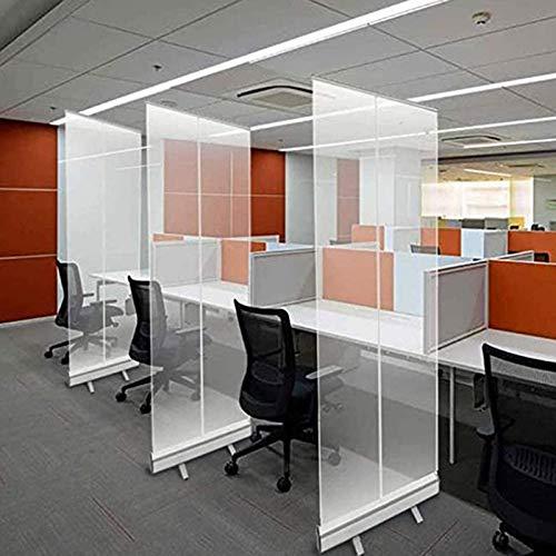 ZYLHC JU Banner Roll-Up Banner Sreteeze Guard for Desk Protective Shield Transparent Hygiene Pantalla de distanciamiento social Precio razonable Amplia gama de aplicaciones