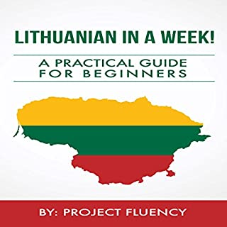 Lithuanian in a Week!  cover art