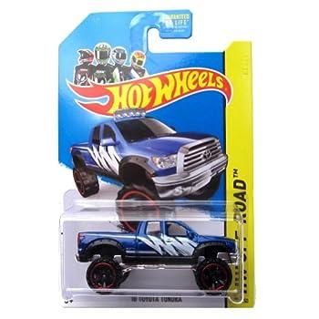 Hot Wheels 10 Toyota Tundra 2014 131/250  Blue  Vehicle HW Off-Road