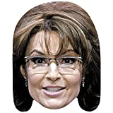 Celebrity Cutouts Sarah Palin (Smile) Big Head. Larger Than Life mask.