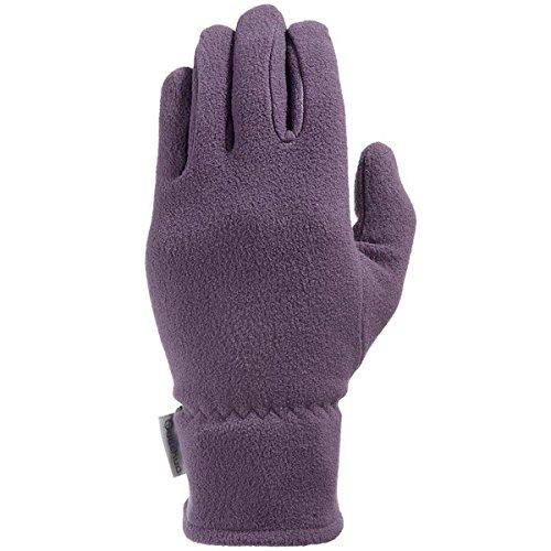 Quechua FORCLAZ 8189485 Unisex Fleece Handschuhe Gr. M/L XL/2XL violett (M/L)