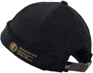 Clape Docker Leon Harbour Hat Watch Cap Breathable Mesh Design Retro Brimless Beanie Hat Unisex
