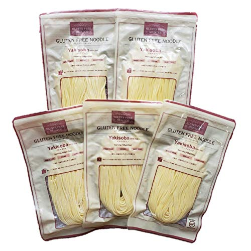 小林生麺 グルテンフリーヌードル 焼きそば(ホワイトライス) 128g×5袋