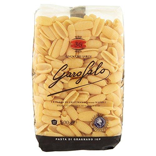 GAROFALO, 36 Gnocchi Sardi Igp, Pasta di Grano Duro, Confezione da 8 x 500 g