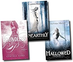 Unearthly Trilogy Collection Cynthia Hand 3 Books Set (Boundless, Hallowed, Unearthly)