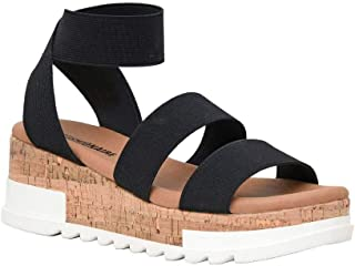 Women's Naomi Cork Wedge Sandal +Wide Widths Available