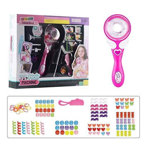 NNGT Trenzadora eléctrica automática de pelo, DIY elegante trenzado, kit de herramientas...