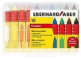 Eberhard 521009 Faber 521009-Wachsmalkreide mit Schiebehülse und Rutschbremse