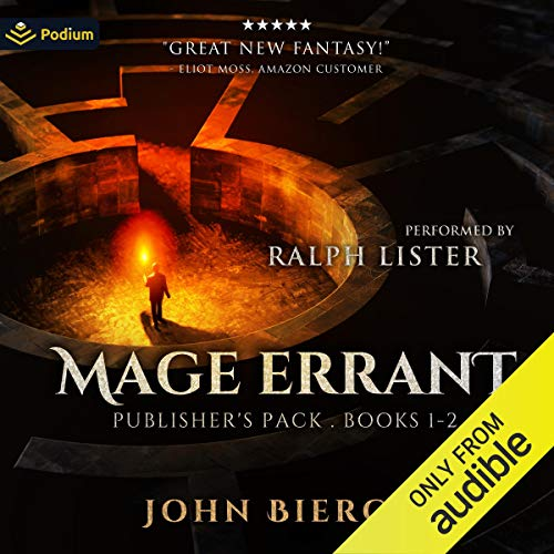 Couverture de Mage Errant: Publisher's Pack