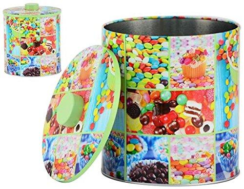 AVENUELAFAYETTE Boîte Pot métal Cuisine Bonbon - 20 cm