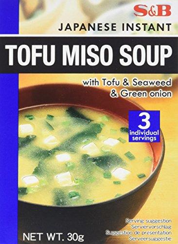 S&B Soupe Miso au Tofu 30 g - Lot de 4